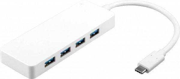 4-fach USB-C Multiport-Adapter